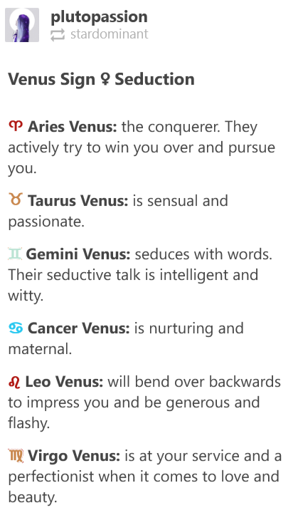 cancer venus sign compatibility