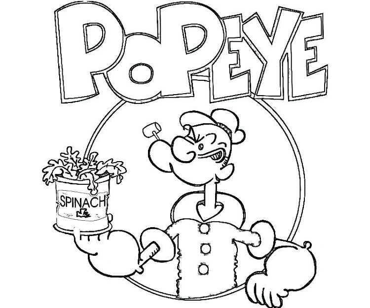 Popeye The Sailor Man Coloring Pages Check More At Http Coloringareas Com 4773 Popeye The Dibujos Faciles Para Dibujar Dibujos Faciles Materiales Didacticos