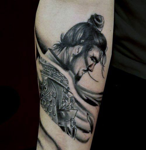 Small Samurai Tattoo Ideas For Guys Samuraj Pinterest - Best traditional samurai tattoo designs meaning men women