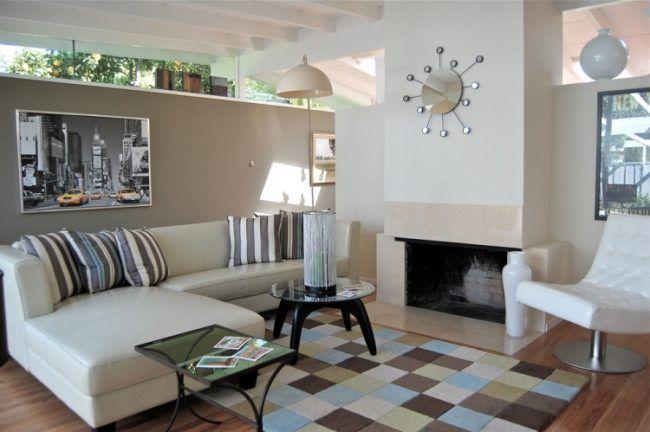 GroB Taupe Wandfarbe   Edle Kulisse Für Möbel Und Accessoires