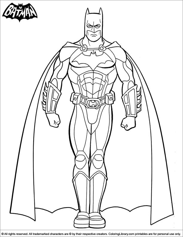 Batman Coloring Sheet Batman Strong Pose Batman Coloring Pages Superhero Coloring Pages Coloring Pages