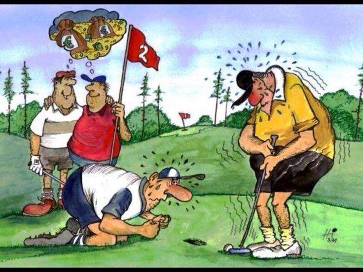 Выпускным, гольф в смешных картинках