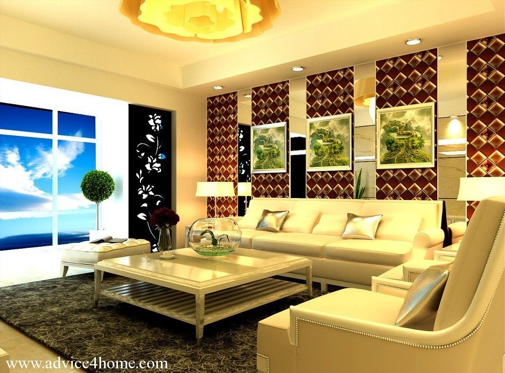 Cream Pop Ceiling Design With Stylish Lighting In Living Room Inspiration Living Room Pop Ceiling Designs Review