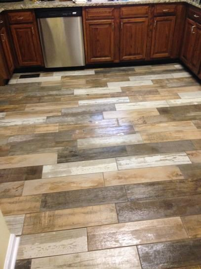 MARAZZI Montagna Wood Vintage Chic 6 in. x 24 in. Porcelain Floor and Wall  Tile (14.53 sq. ft. / case) - MARAZZI Montagna Wood Vintage Chic 6 In. X 24 In. Porcelain Floor