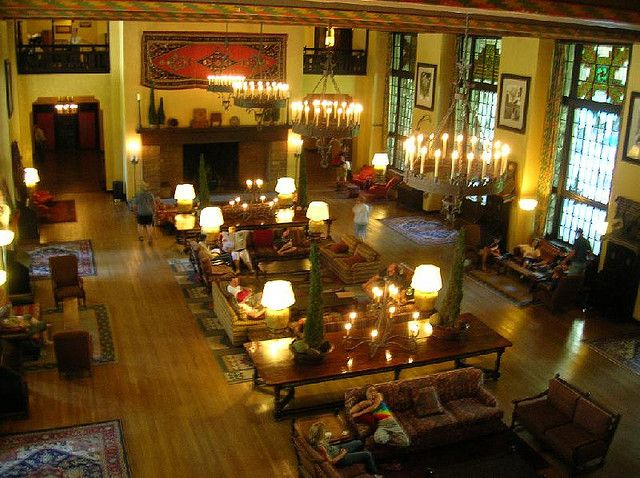 Ahwahnee Hotel Lobby Yosemite National Park Ca Inspiration For Stanley Kubrik S Shining
