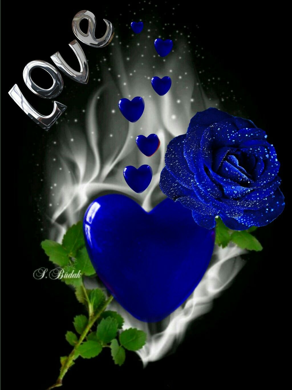 Pin By Memorable Moments On I Love You Jesus Flower Phone Wallpaper Blue Rose Tattoos Blue Roses Wallpaper