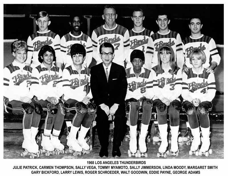 1960's Thunderbirds Teams Team photos, Derby