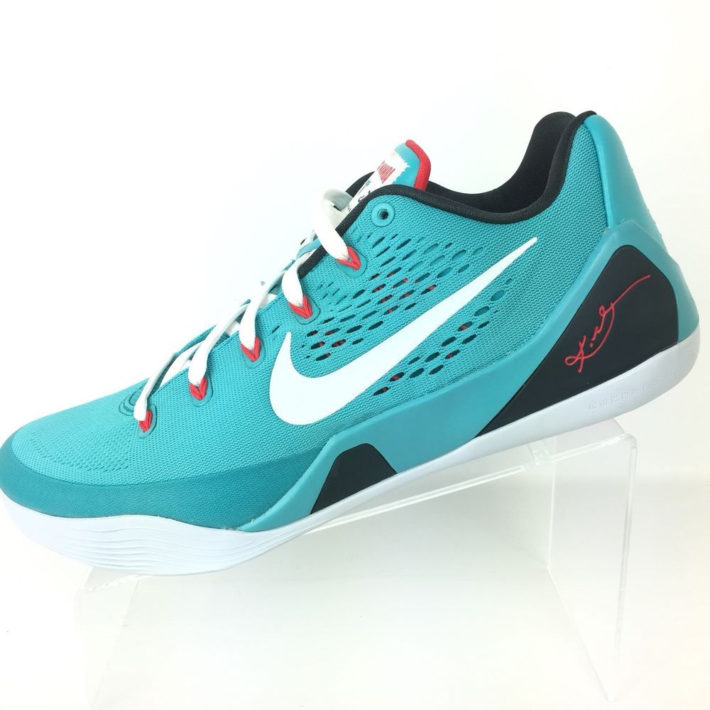4642b382cb6d Nike Kobe IX 9 Dusty Cactus Men Black Mamba Basketball Size 12 Shoes 646701  316  Nike  BasketballShoes