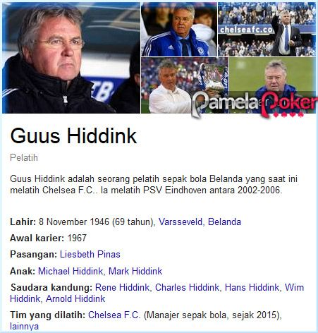Berita Bola Chelsea Guus Hiddink Bos Chelsea Guus Hiddink Telah