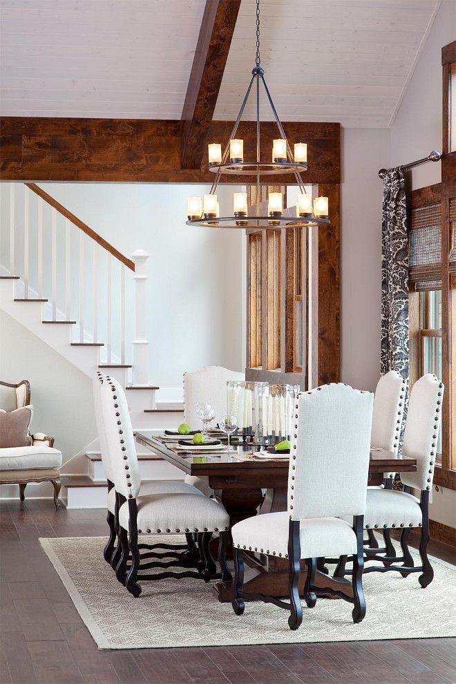 23 Dining Room Ceiling Designs Decorating Ideas: Dining Room With High Ceiling Ideas. Heather Scott Home & Design