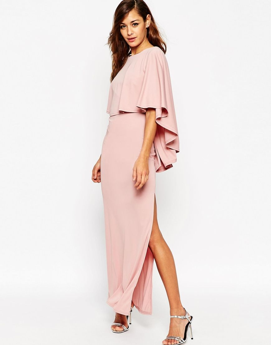 ASOS Extreme Cape Maxi Dress | Dresses | Pinterest | Graduación ...