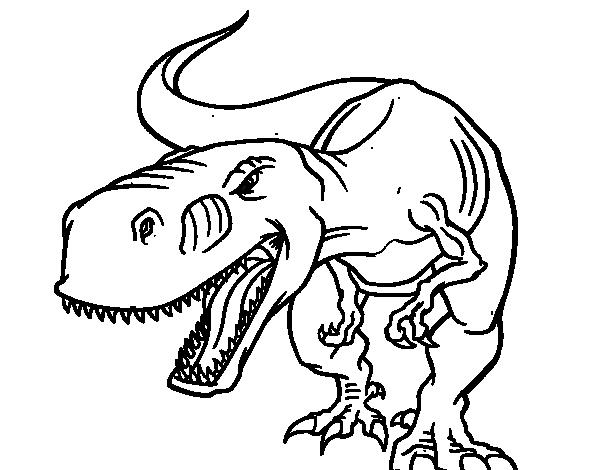 Dibujo de Espinosaurio beb para colorear  Dibujos de Dinosaurios