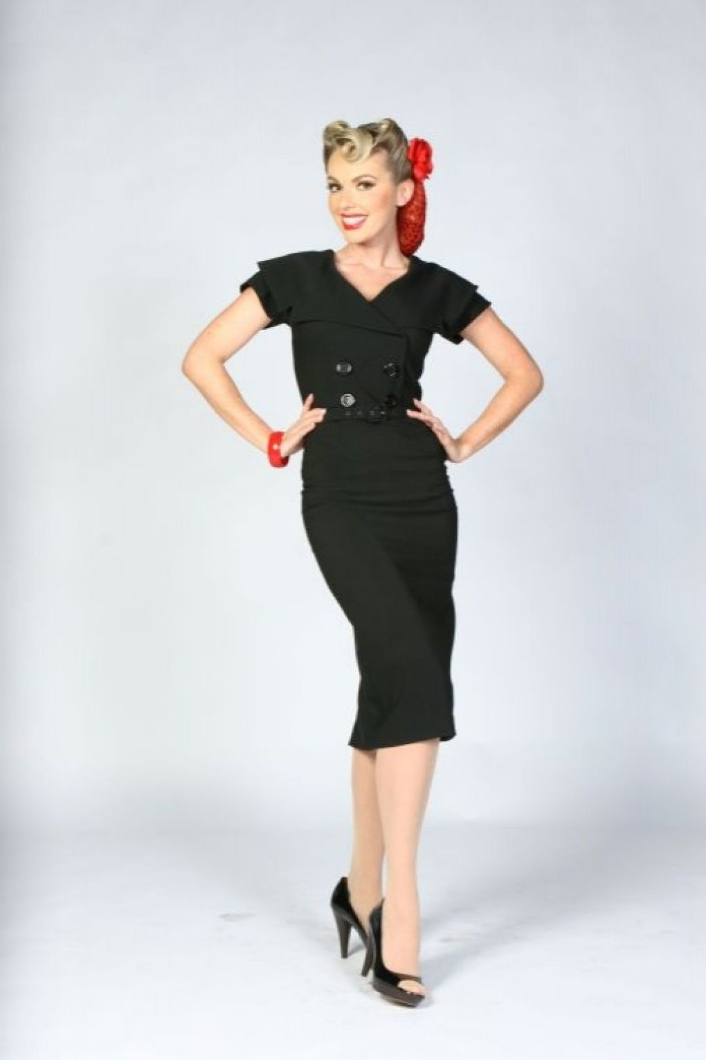1c56ba40 The Secretary pencil Dress Dress by Bettie Page Clothing. A musthave for  every retro chic lady!