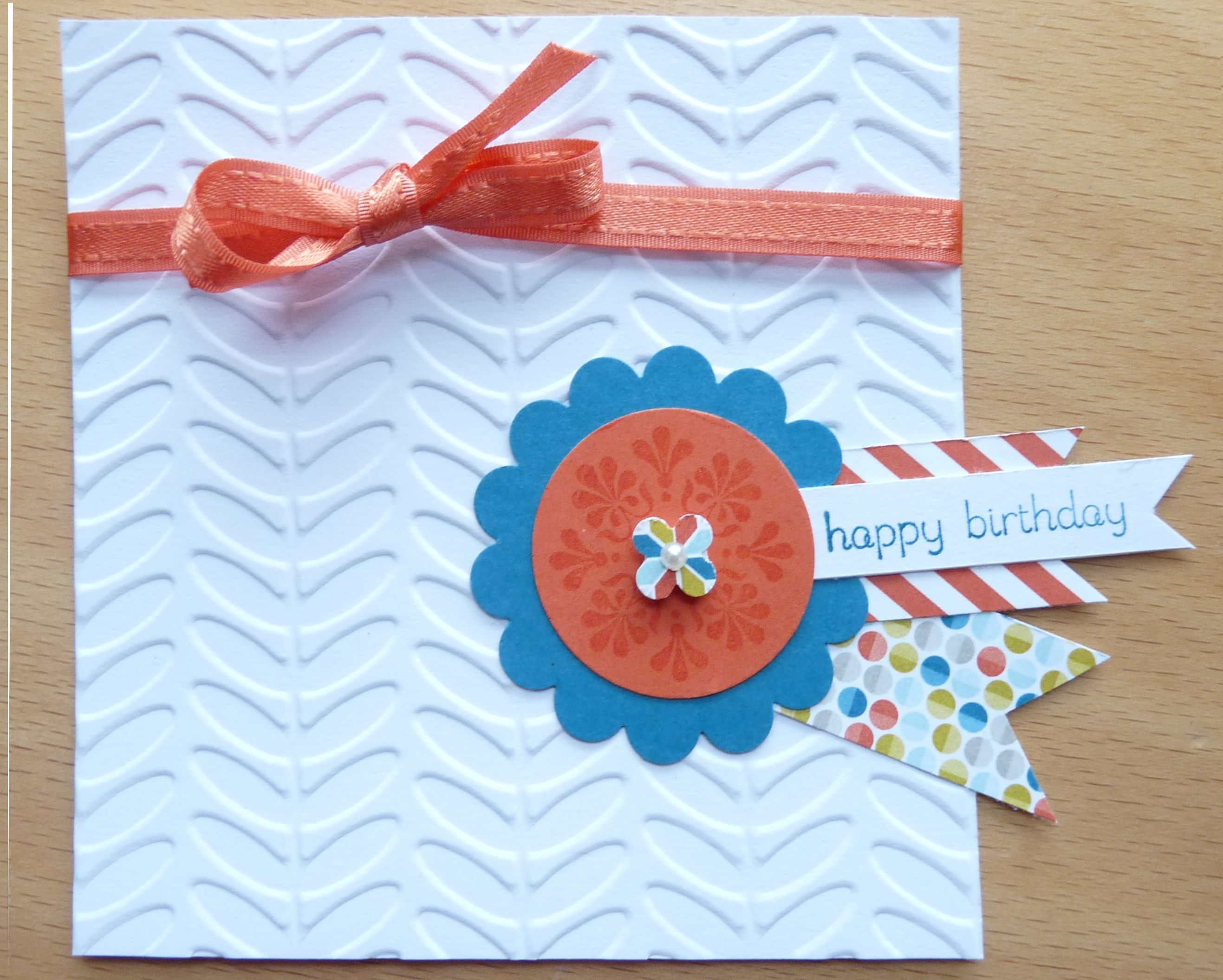 A birthday card made for a 9 year old girl For details go to