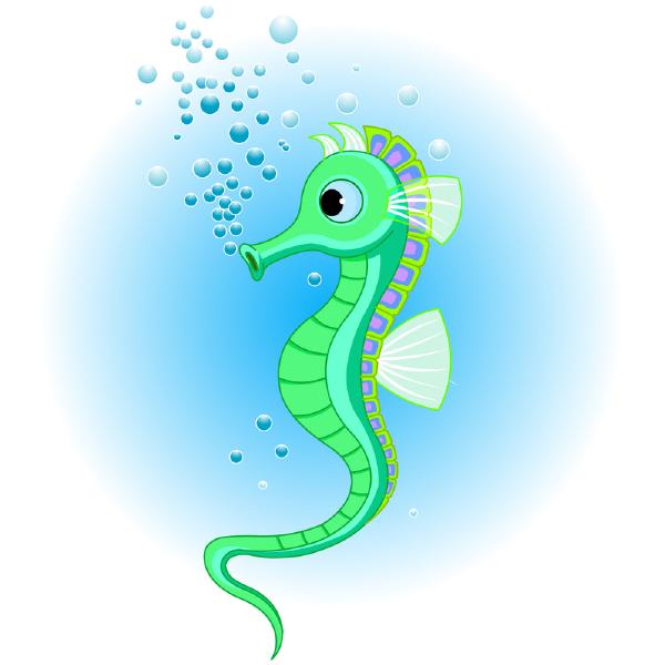Seahorse Icon Animal Icon Seahorse Drawings