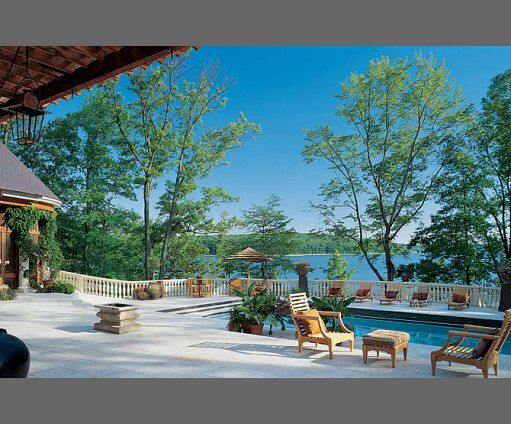 The Back View Of John S House On Lake Monroe Bloomington Indiana Pretty Sweet Huh Art Studio At Home Architectural Digest Architecture
