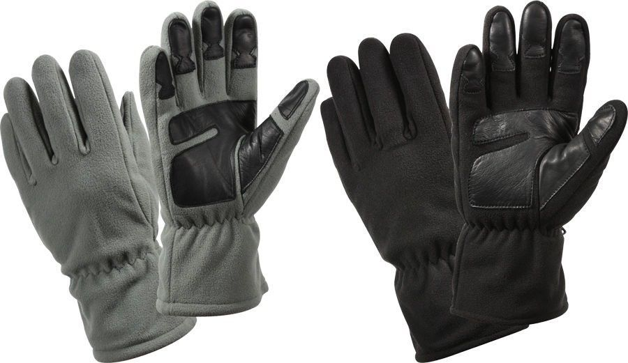 Fleece Cold Weather Warm Insulated Winter Gloves  Rothco   MilitaryTacticalGloves e06ba47f922