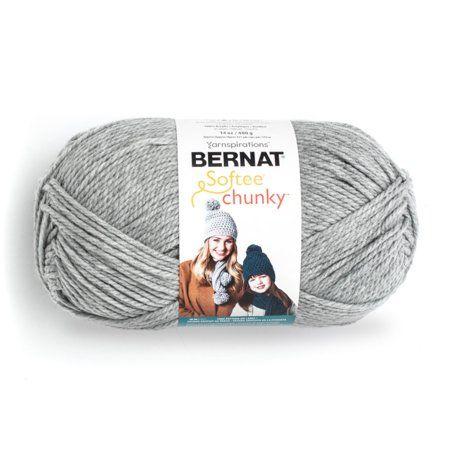 Bernat Chunky Big Ball Yarn Solids-Aran