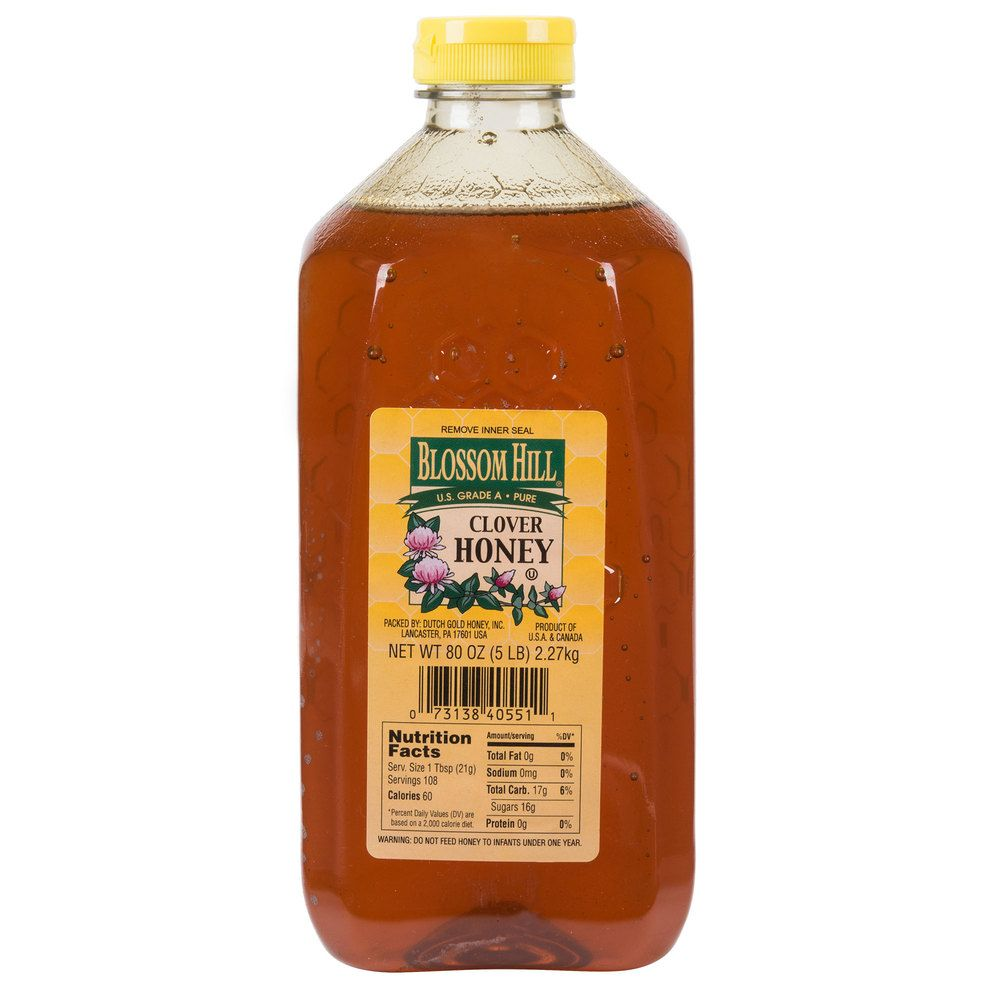 Monarch's Choice 5 lb  All Natural Honey | Kitchen & Cooking