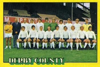 1974-75 A&BC Gum #74 Derby County Team Front