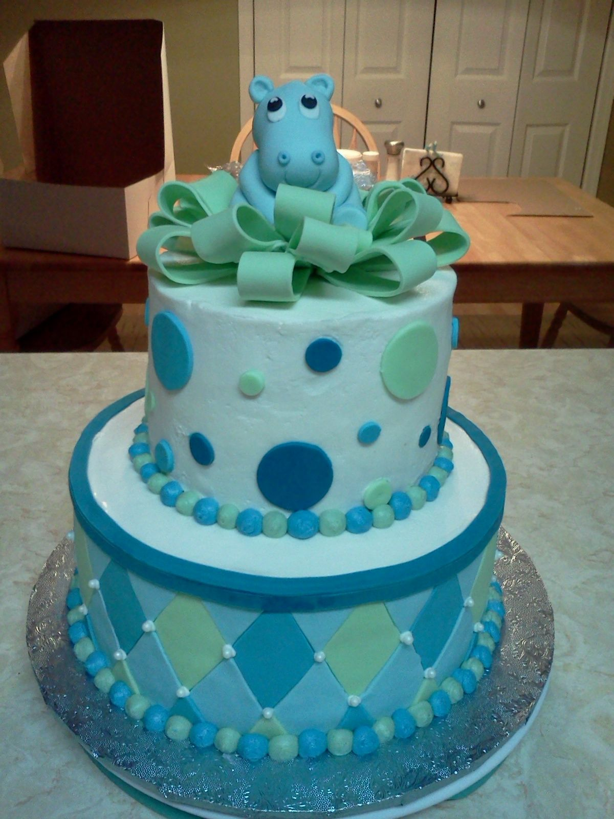 Hippo Cake I Want A Hippo Cake For My Bday Babys Hippo