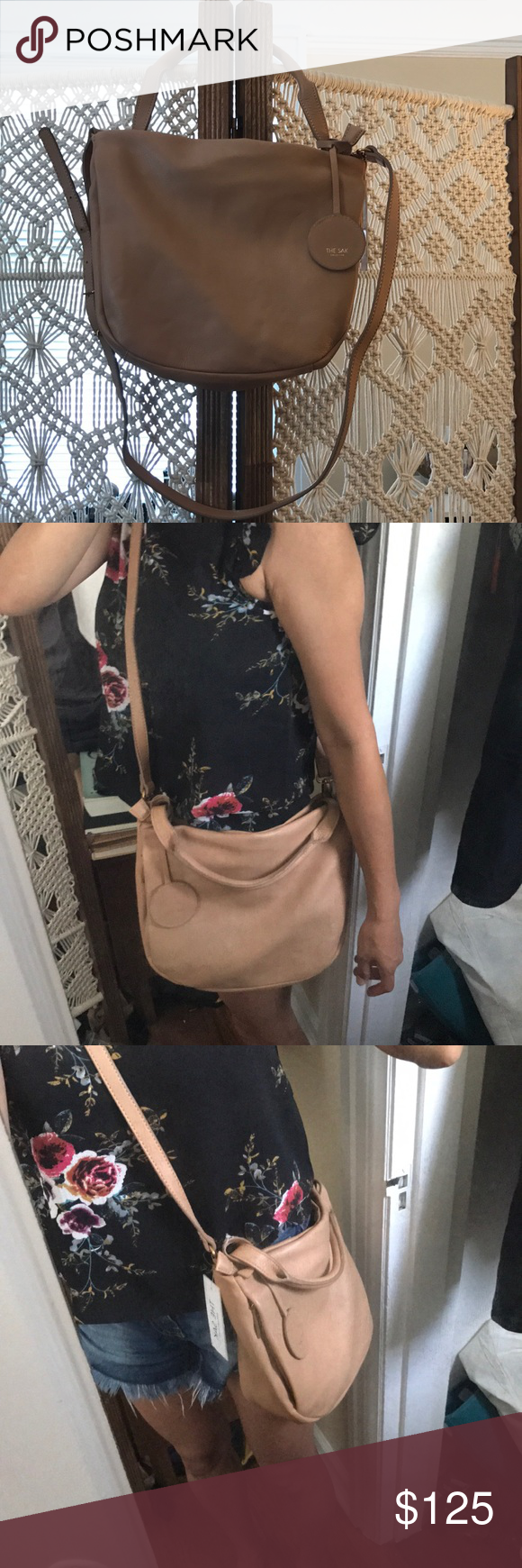 The Sak 120 Small Hobo purse 12in L x 3.8in W x 10in H  Drop up to 24  inches Main zipper closure Two hidden front vertical pockets Interior  contains 4 ... 040ec3dae7