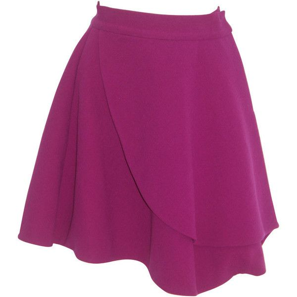 Preowned Gianni Versace Origami Skirt Fall 1991 1850 Liked On