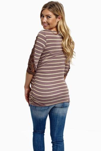 de5d1709df67d Tops Maternity Skinny Jeans, Pink Blush Maternity, Stylish Maternity, Blush  Pink, Light