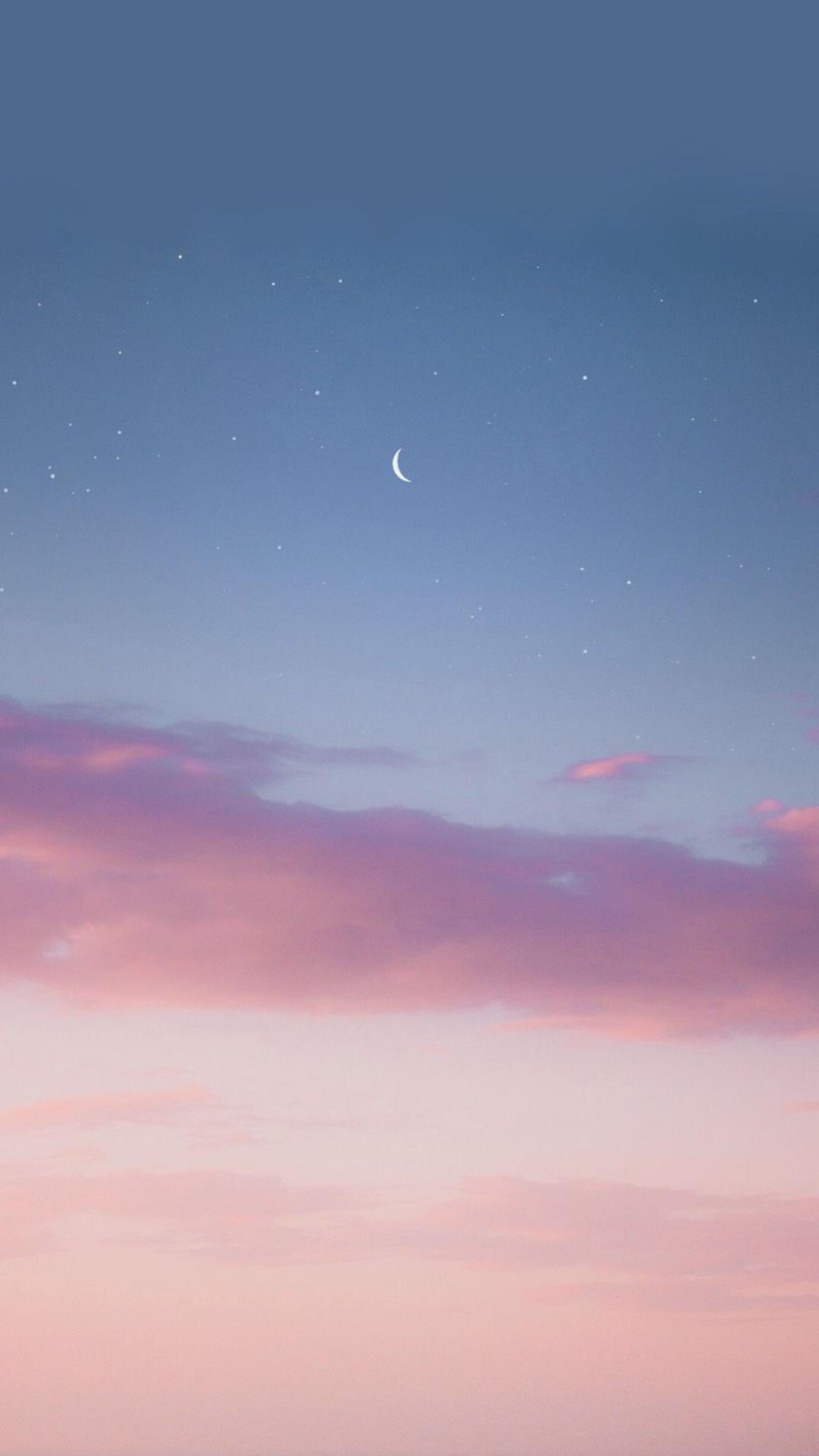 Evening Sky Wallpaper วอลเปเปอร์, แบคกราวน์ไอโฟน, วอลเป