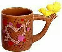 Coffee mug with Woodstock♥