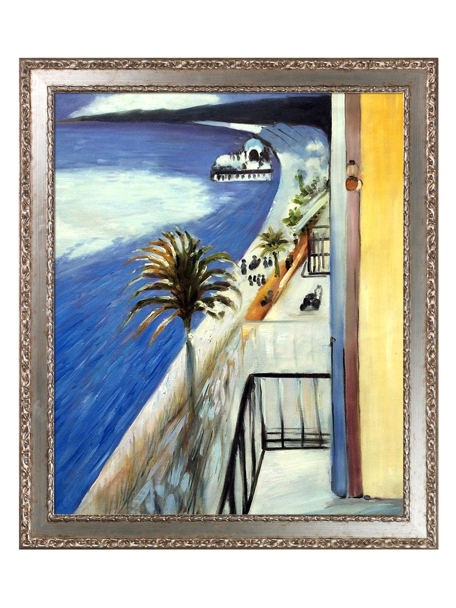 Overstock Art The Bay of Nice, 1918 by Henri Matisse (Canvas ...