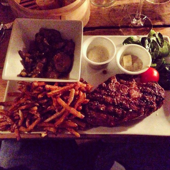 L Aller Retour Meat Restaurant Food Four Square