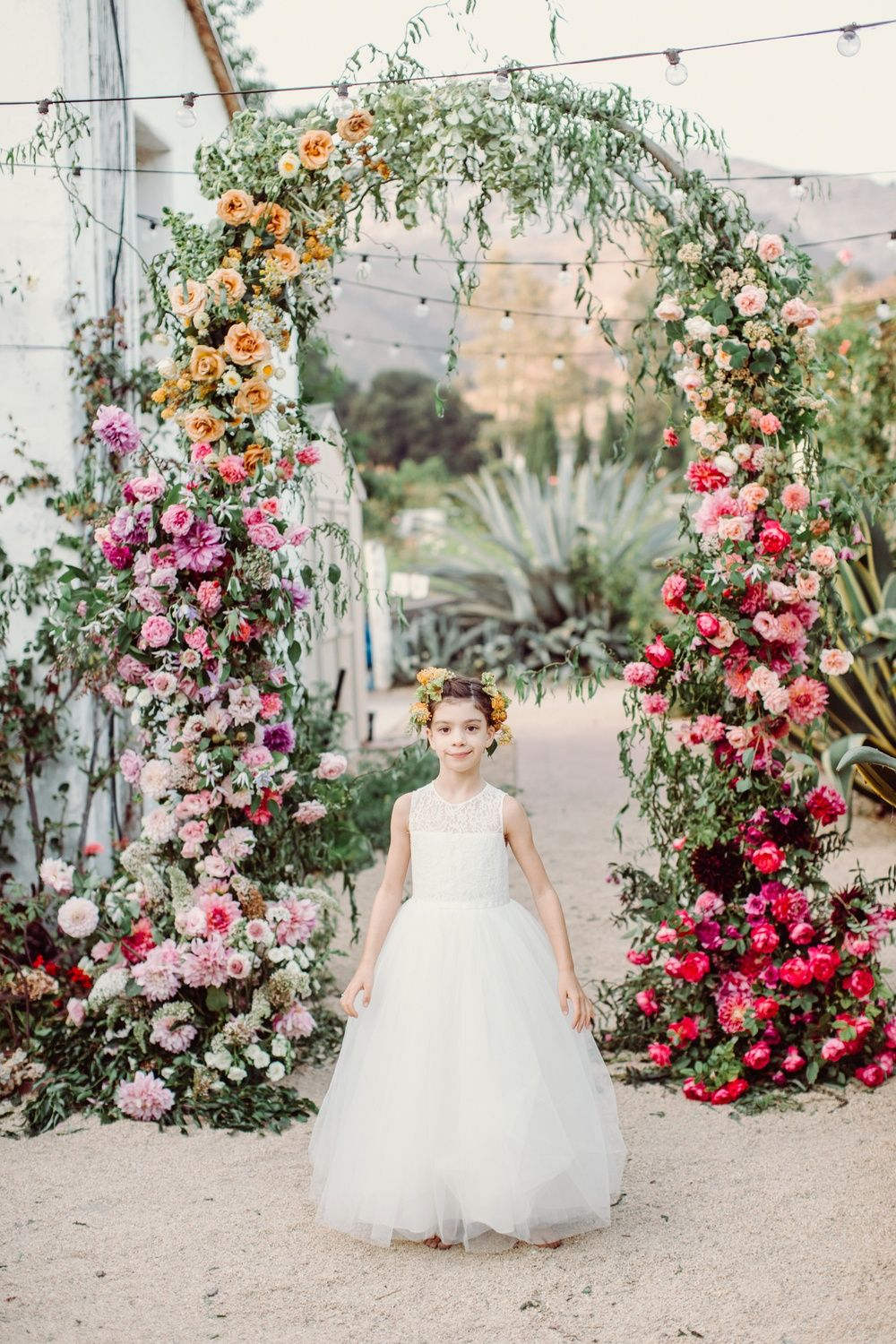 All the feels with this ombre floral wedding inspiration flower