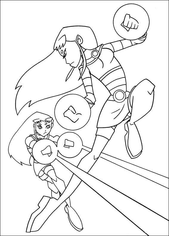Malvorlagen Teen Titans 12 | Ausmalbilder für kinder | Pinterest ...