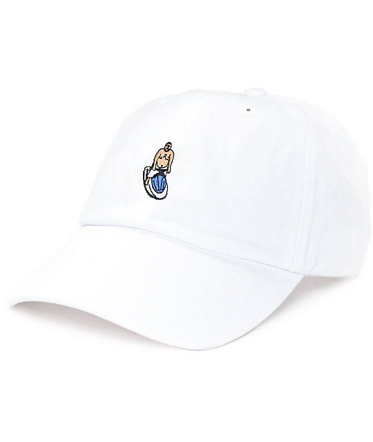 40s   Shorties The Best White Dad Hat  6fca67664bd4