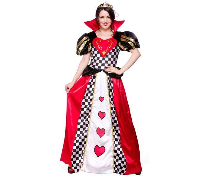 Deluxe Queen of Hearts Alice In Wonderland Fairytale Book Week Girls Costume