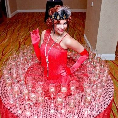Red dress quinceanera entertainment