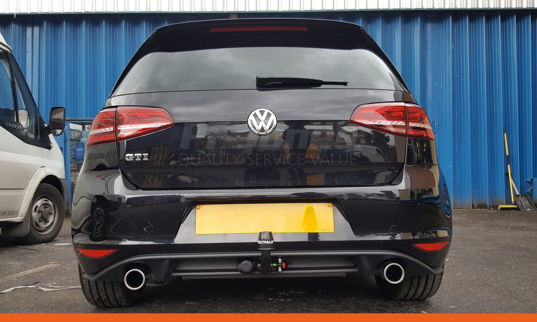 Volkswagen Golf Hatchback Gti 2014 Fitted With A Westfalia
