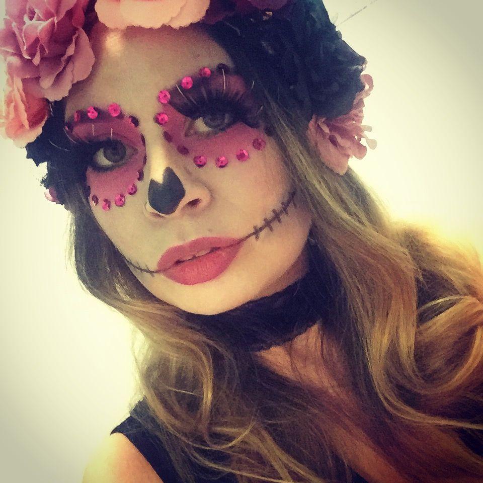Catrina mexicana. Halloween