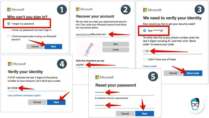 How to unlock windows 10 pc without knowing the password