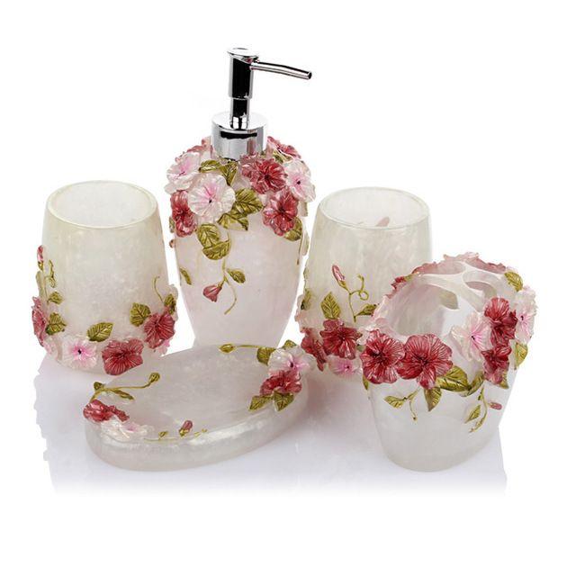 2015 mode de luxe salle de bains accessoires set livraison Accessoire salle de bain luxe