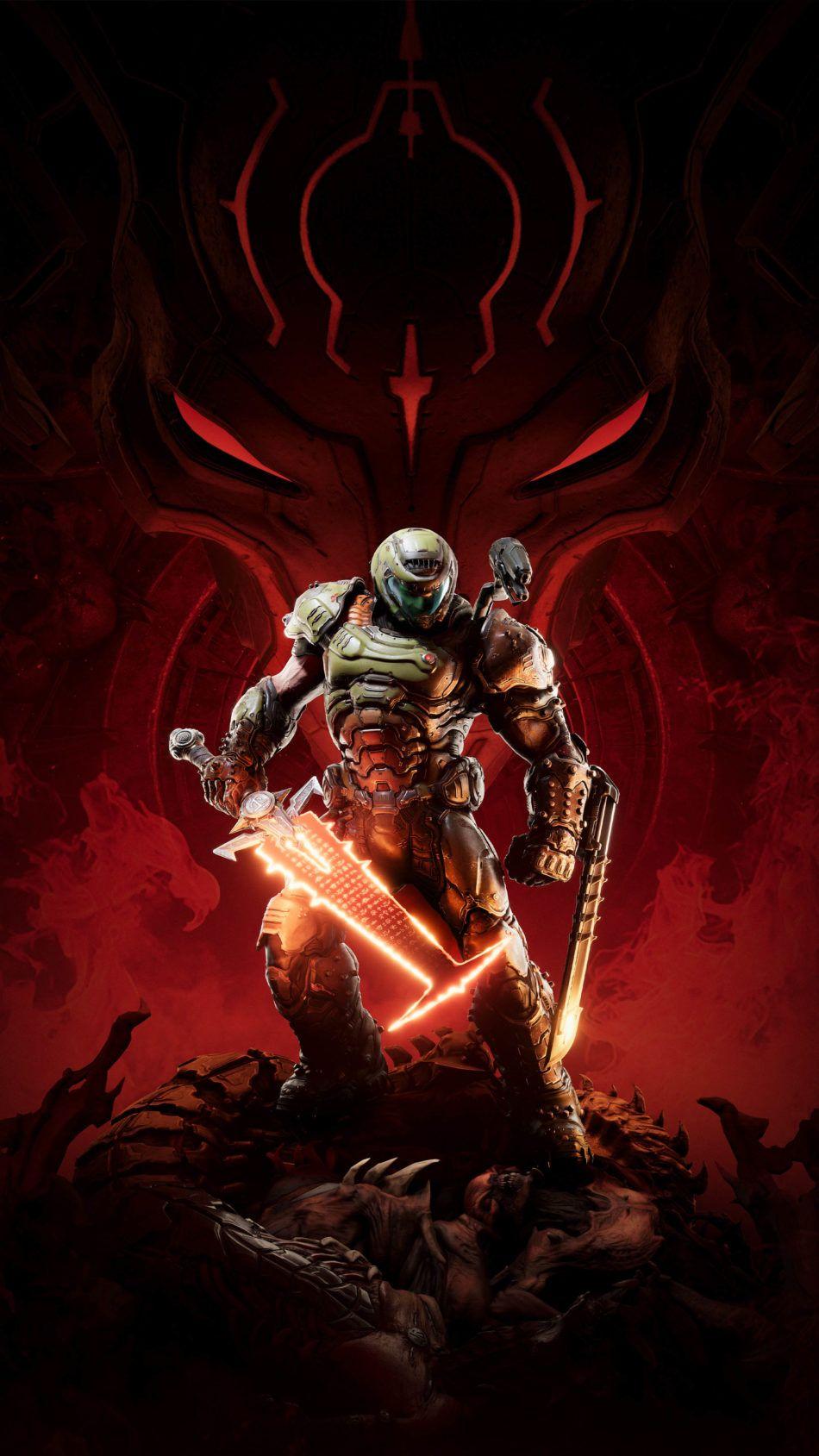 Doom Eternal Game 2020 4k Ultra Hd Mobile Wallpaper In 2020 Doom Demons Doom Videogame Doom Game