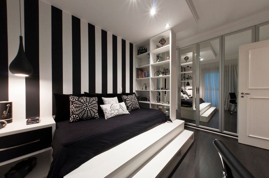 17 Best Images About Black And White Bedrooms On Pinterest   Guest. Black And White Bedroom Wall Decor   Makipera com