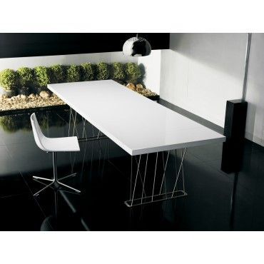 Clarges Modern 87in Dining Table