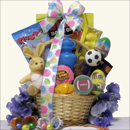 Egg streme sports easter gift basket for boys ages 6 to 9 years egg streme sports easter gift basket for boys ages 6 to 9 years old negle Image collections