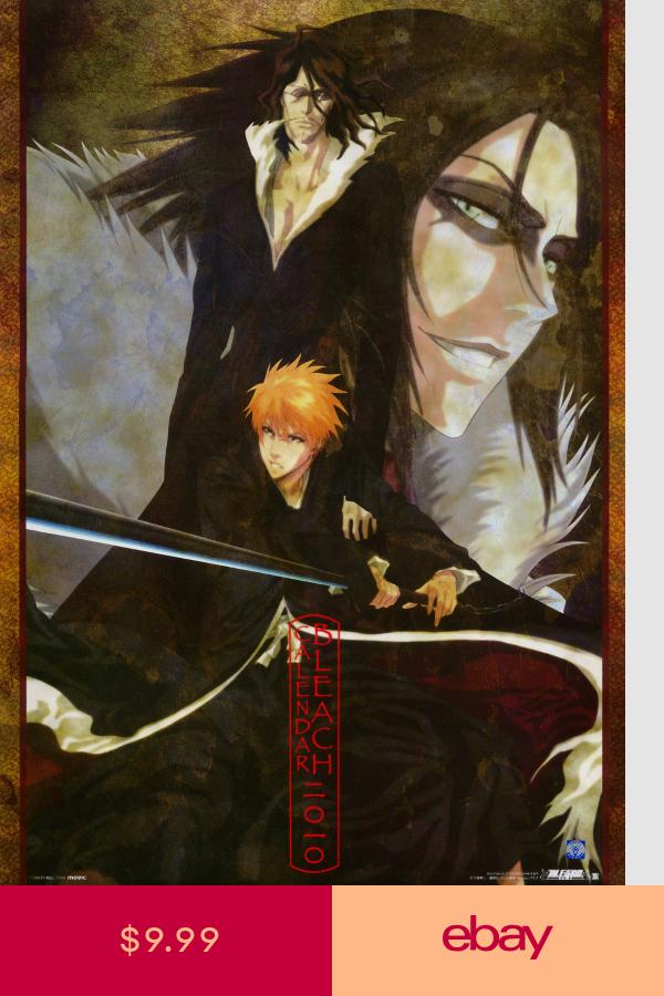 wall calendar 2019 bleach manga anime 12 pages a4 a 802 ブリーチ アニメ アニメ 死神