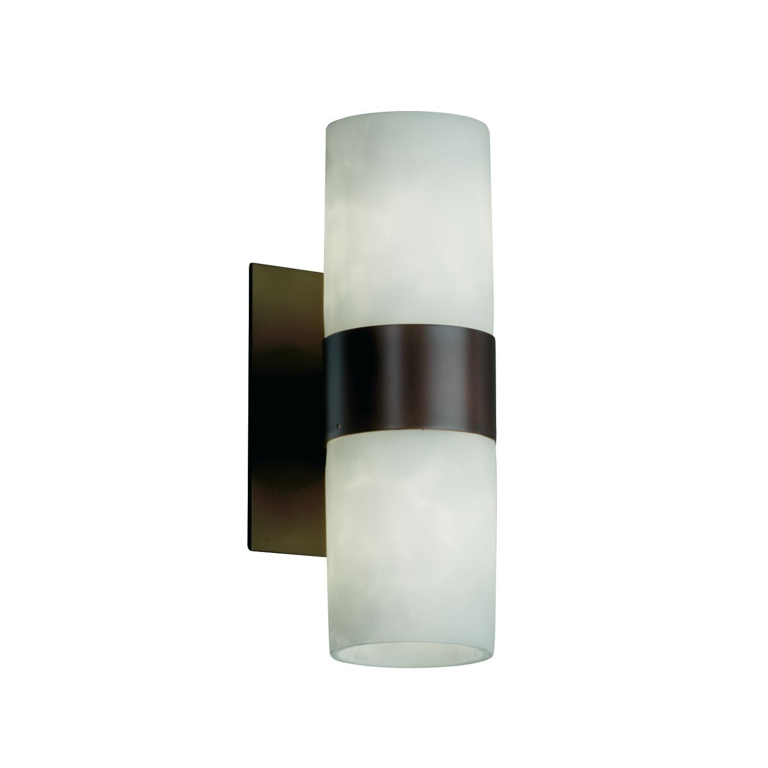 Justice Design Clouds Dakota Dark Bronze 2-light Wall Sconce ...