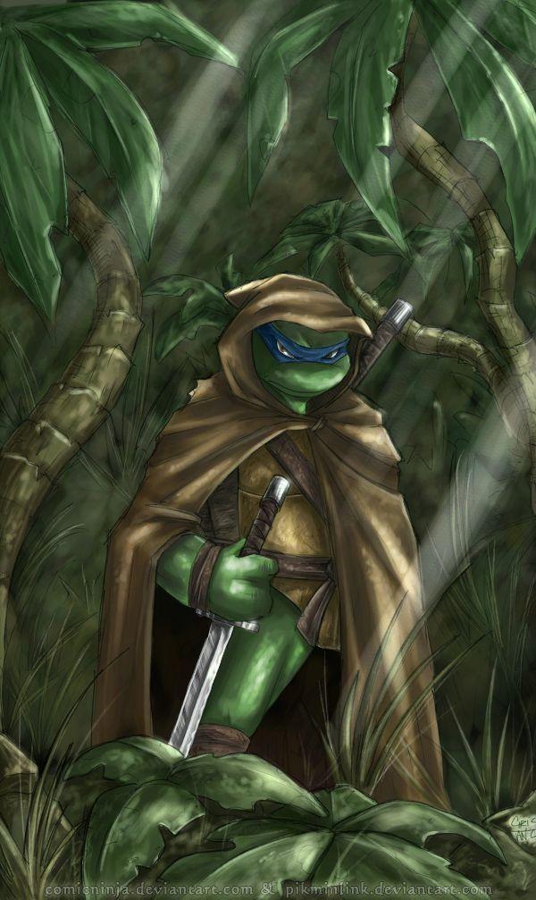 Ghost of the Jungle - TMNT art by LiKovacs | Teenage Mutant Ninja