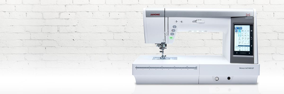 Janome Horizon Memory Craft 9400 | Sewing | Pinterest