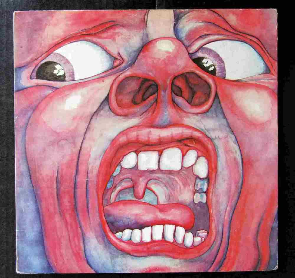 King Crimson In The Court Of The Crimson King Lp Vinyl Record Free Shipping King Crimson Album Art 21st Century Schizoid Man